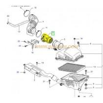 ДАТЧИК МАСА ВЪЗД. ПОТОК (MAF) ДЕБИТОМЕР  SPORTAGE 2.0 GAS, CARENS 1.8 -02) 0K08013210