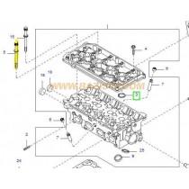 БОЛТ ГЛАВА (8)  1.5/1.6L (A5D, A6/A6D) (дълъг) 0K30E10135B