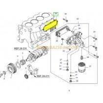 ГАРНИТУРА МАСЛЕН ОХЛАДИТЕЛ (към блок двигател)  2.7/2.9L (J2,J3) 263134X310