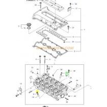 ГУМИЧКА КЛАПАН  SPORTAGE 2.0 DOHC GAS -02), CARENS 1.8 -06) 0KL0210155