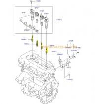 СВЕЩ ЗАПАЛИТЕЛНА S16 (M12/L26.5)  LZKR6B-10E   1.4/1.6L (G4F#) (09- RER8MC