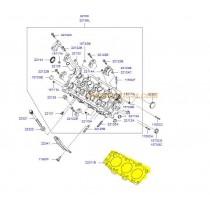 ГАРНИТУРА ГЛАВА ДЯСНА  2.7L (G6BA) /METAL/ 2231137320