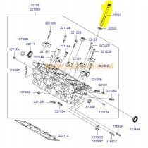 БОЛТ ГЛАВА  1.5/2.0/2.2L (x10) (D3EA,D4EA,D4EB)(LLW) 2232127400