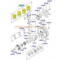 СЕГМЕНТИ STD  1.6L (G4ED) (06.2004- 2304026160