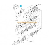 СТАРТЕР  1.2kW (9z/67.9)  AVEO 1.4 (09-11) 25180808