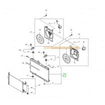 РАДИАТОР ВОДЕН (M/T)  CERATO 1.6 (06- (GAS) 253102F890