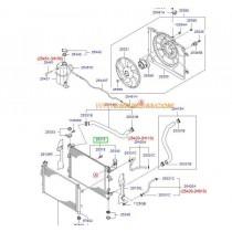РАДИАТОР ВОДЕН (M/T)  i30/CEE'D -12) (GAS) 253102R000