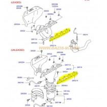 ГАРНИТУРА ИЗПУСКАТЕЛЕН КОЛЕКТОР  2.0L (D4EA/LLW) 2852127000