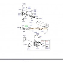 КЛАПАН РЕГУЛАТОР ПРАЗЕН ХОД (стъпков мотор)  ACCENT,Pony,Excel/LANTRA/SPORTAGE -00) 3515022000