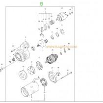 СТАРТЕР  2.5L (D4CB) SORENTO/H-1 361004A010