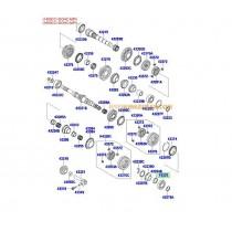 ЛАГЕР СКОРОСТИ ВХОДЯЩ ВАЛ (ЗАДЕН) (5;6M/T) 1.4/1.6(GAMMA) (10- 4322332000