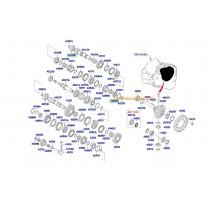 ЛАГЕР СКОРОСТИ ИЗХОДЯЩ ВАЛ (1/2) (ПРЕДЕН/ЗАДЕН) (5;6M/T) >1< 4322524300