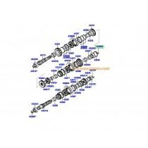 СИНХРОНИЗАТОР СКОРОСТИ (5M/T) 1-ва, 2-ра  (3бр. конусни пръстени) 4335039021