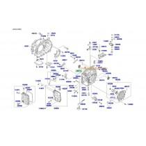 СЕМЕРИНГ ПОЛУОСКА ДЯСНА (6A/T)(4WD)  SANTA FE/iX35/SPORTAGE (10-, SORENTO (09- 452453B700
