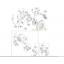 ГЛАВИНА ПРЕДНА С ЛАГЕР  CARNIVAL (06- 517504D000