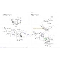 ВТУЛКА ТАМПОН НОСАЧ ПРЕДЕН ДОЛЕН  K2500 (12-, K2900 545224E000