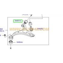 ВТУЛКА ТАМПОН НОСАЧ ПРЕДЕН (ЗАДНА/МАЛКА)  SANTA FE (06-12), SORENTO/IX55(09- 545512B000