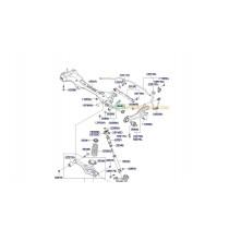 БОЛТ РЕГЛАЖЕН ЩАНГА НАПРЕЧНА ЗАДЕН МОСТ (D)(12/67)  MAGENTIS (05-10) 546402G000
