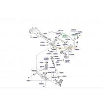 ЩАНГА ЗАДНА НАПРЕЧНА (ГОРНА)  i30/CEE'D -12), CARENS (06-12), MAGENTIS (06-  551002G000