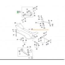 НОСАЧ ЗАДЕН ГОРЕН ЛЯВ  SONATA -04), MAGENTIS -05) CQKH28L