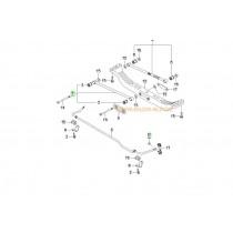 ЩАНГА НАПРЕЧНА ЗАДЕН МОСТ (предна)  CERATO -06) ELANTRA -06), COUPE (01- 552102F000