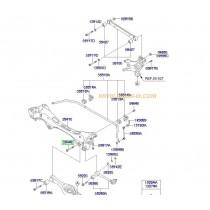 БОЛТ НОСАЧ ЗАДЕН ДОЛЕН  i30/CEE'D/MAGENTIS -12), АМОРТИСЬОР iX35/SPORTAGE (4WD) (10- 554472G000