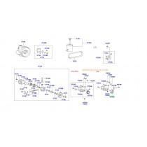 РОЛКА ОБТЯЖНА РЕМЪК ПИСТОВ (P/S+A/C)  2.0/2.4 (G4JP, G4JS) 5721238100