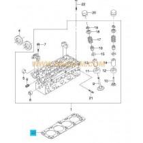 ГАРНИТУРА ГЛАВА  1.8L (L84) LACETTI+NUBIRA (03-05) 90411937