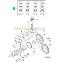 СЕГМЕНТИ STD  1.6L A16DMS/F16D3 (L44, LXT) 93740225