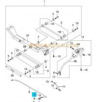ТАМПОН СТАБ. ЩАНГА ЗАДНА  NUBIRA (97-99)(без комби) 96297803