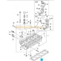 ГАРНИТУРА ГЛАВА  1.6L (L44,LXT) NUBIRA -03), LANOS/TACUMA 96391436