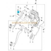 ДАТЧИК СПИРАЧКИ (СТОП МАШИНКА) (ключ) 2 pin 96567247